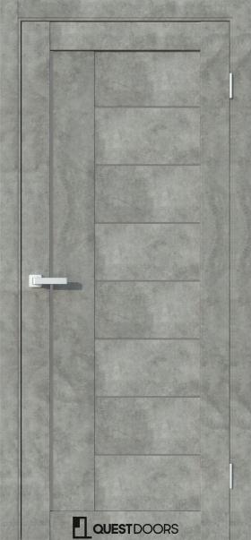 QC1 Бетон серый стекло графит