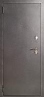 ДМ Бизнес-3М Антик серебро / Q 552  графитовое зеркало,орех макадамия 16 мм. — дверь входная