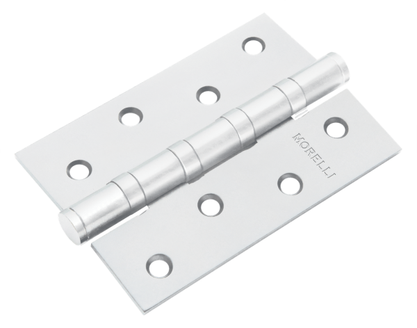 Петля MORELLI стальная универсальная MS 100X70X2.5-4BB W Цвет - белый