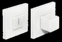 Завертка сантехническая MORELLI MH-WC-S6 W Цвет - Белый