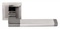 Ручка раздельная MH-35 SN/BL-S Цвет-белый никель/черный никель