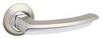 Ручка раздельная Fuaro (Фуаро) ALFA AR SN/CP-3 матовый никель/хром