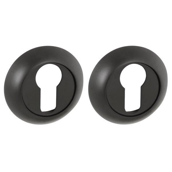 Накладка под Punto (Пунто) цилиндр ET TL BL-24 черный