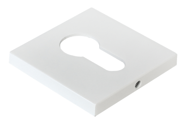 Накладка под цилиндр квадратная MORELLI MH-KH-S6 W белая