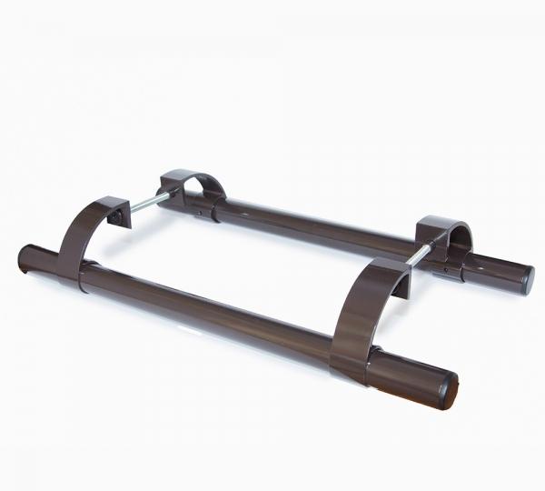 Ручка дверная Ригель-РП-500 коричневая