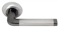 Ручка раздельная DIY MH-03 SN/BN Цвет-белый никель/черный никель