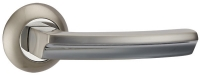 Ручка раздельная Punto (Пунто) ALFA TL SN/CP-3 матовый никель/хром