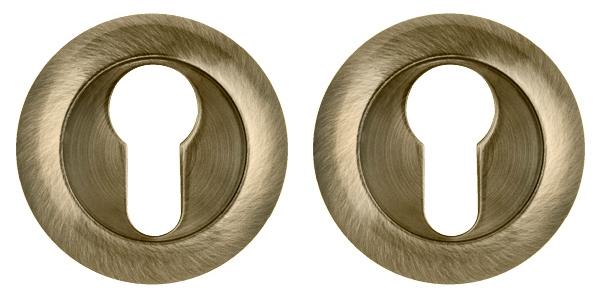Накладка под Punto (Пунто) цилиндр ET TL ABG-6 зеленая бронза