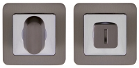 Punto (Пунто) BK6 QR GR/CP-23 графит/хром, Ручка поворотная