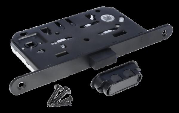 MORELLI M1895 ВL,  цвет - черный Защелка магнитная сантехническая