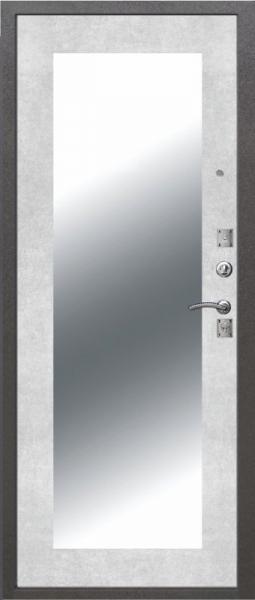 ДМ Dominanta серебро Зеркало Бетон Снежный